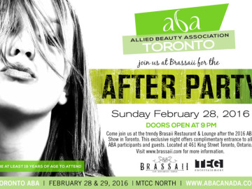 2016 Toronto ABA After Party